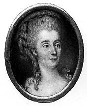Franklin's poplarity with French women included the Countess d'Houdetot