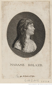 Jean-Marie Roland - his wife Madame Roland