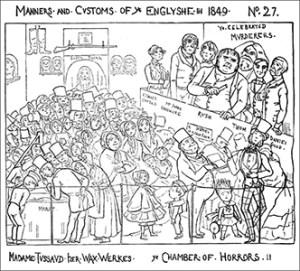 Madame Tussaud's Chamber of Horrors - Mr. Pips