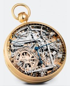 Breguet Pocket Watch reproduction of Marie Antoinette's watch