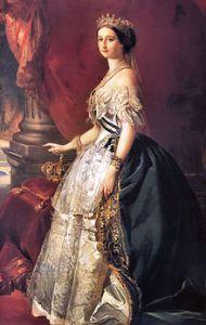 Nineteenth Century Royal Beauties  - Empress Eugénie