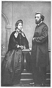 four penny coffins or penny beds - William Booth and his wife