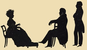 Auguste Edouart shows his skills shown in this silhouette