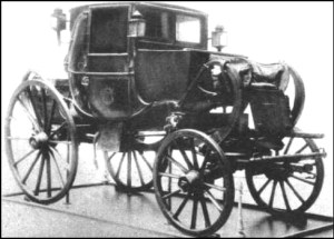 Napoleon Bonaparte's military carriage