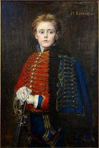 Joseph Bara portrait by Jean-Joseph Weerts