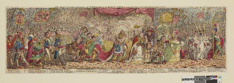 Napoleon's coronation procession