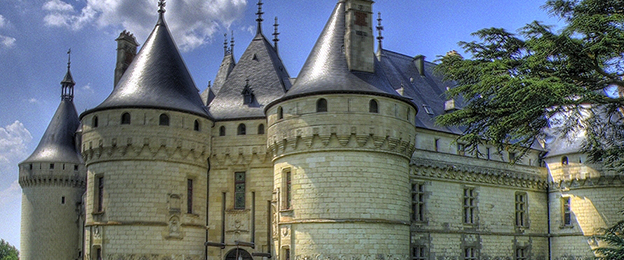 Chateau de Chaumont-sur-Loire in the 1700 and 1800s