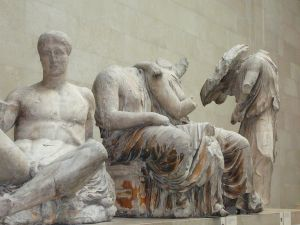 Elgin marbles - statuary from the east pediment