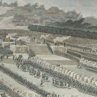 The First Fete de la Federation of 14 July 1790