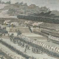 The First Fete de la Federation of 14 July 1790