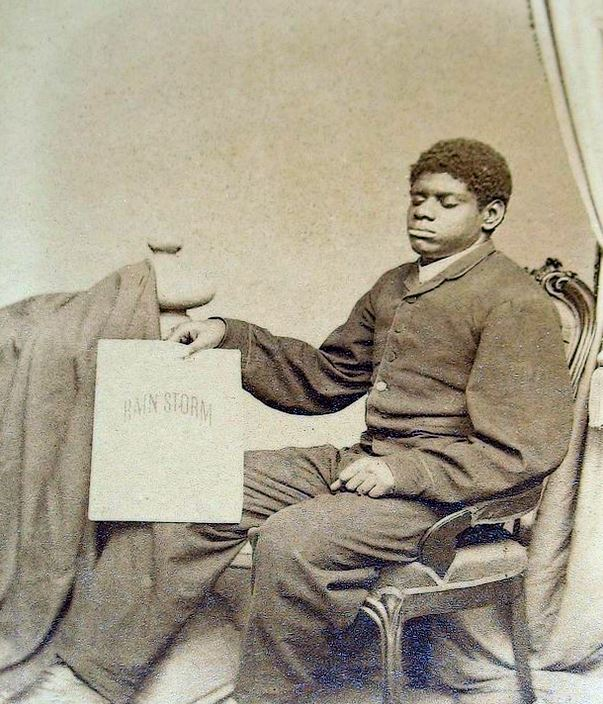 Blind Tom in 1861.