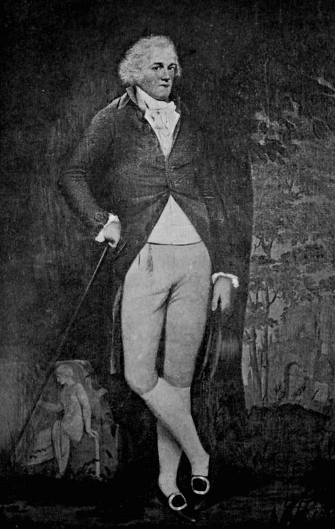 Jane Austen's disabled brother George Austen - Picture of Edward Austen