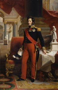 Queen Victoria's visit - King Louis Philippe I