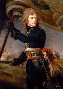 Napoleon Bonaparte portraits - General Bonaparte on the Bridge at Arcole, 17 November 1796 by Antoine-Jean Gros