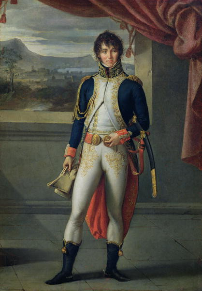 Joachim Murat in his French uniform.