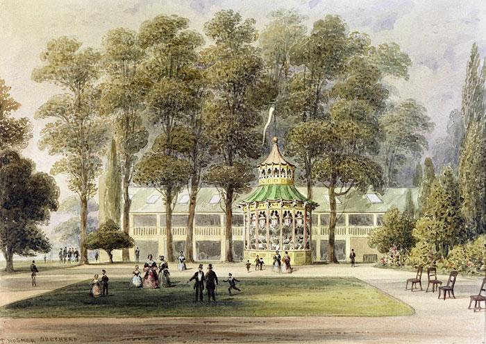 Cremorne Gardens in 1852.