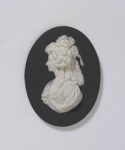 Princesse de Lamballe portraits - medallion