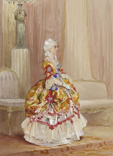 Queen Victoria's Bal Costumé of 1845 - Queen Victoria
