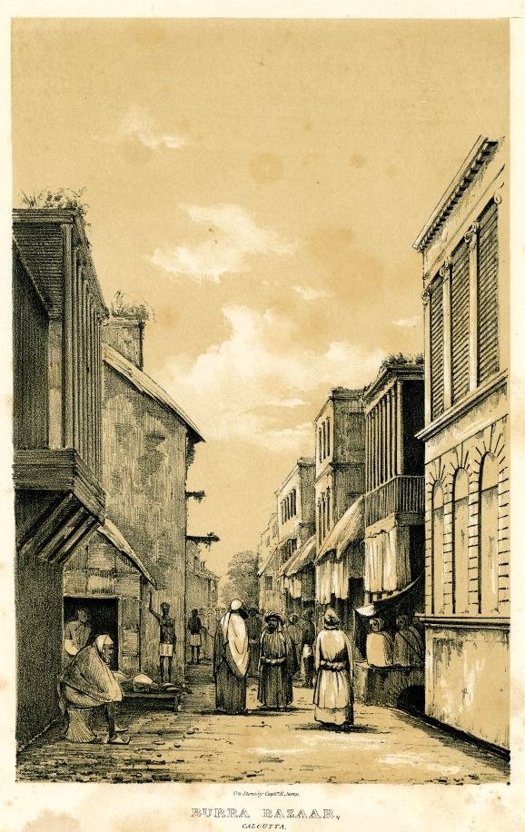 18th century Calcutta - buzar