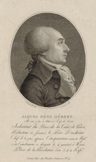 Stories of the French Revolution - Jacques René Hébert.