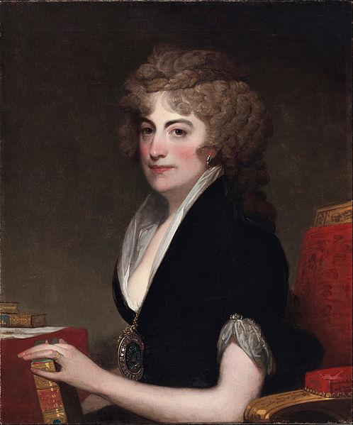 Ann Bingham by Gilbert Stuart
