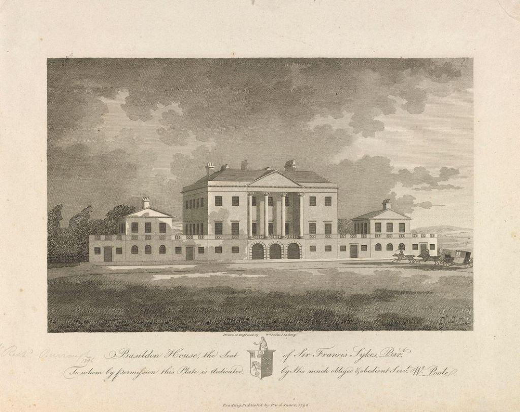 Basildon Park house in 1798