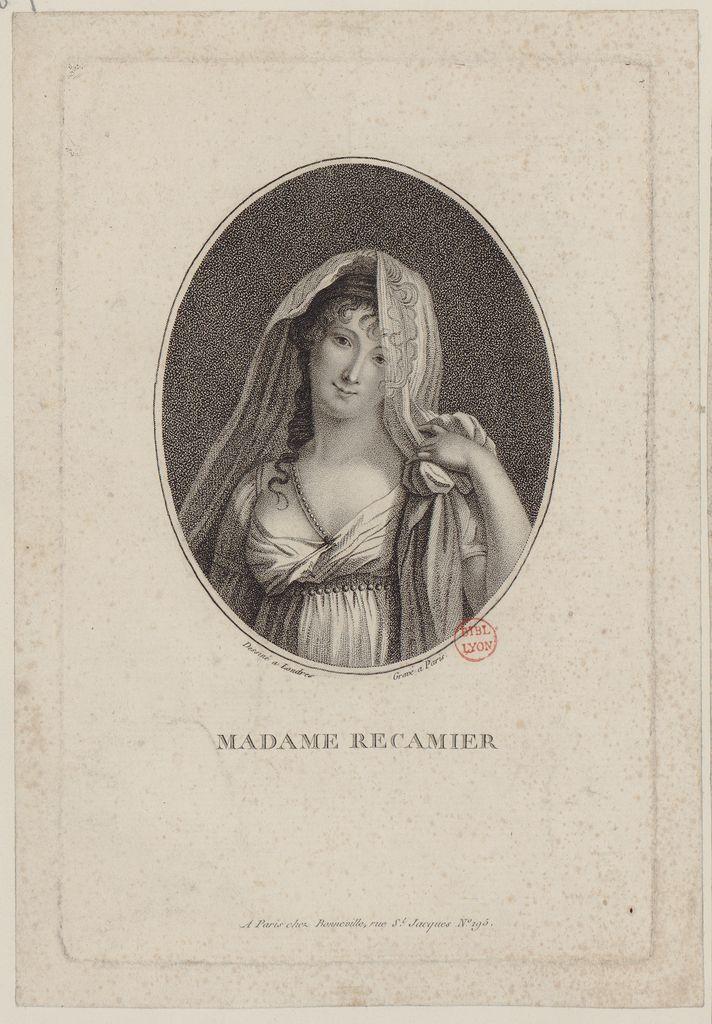 Socialite Madame Récamier