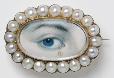 Eye miniatures - early 19th century
