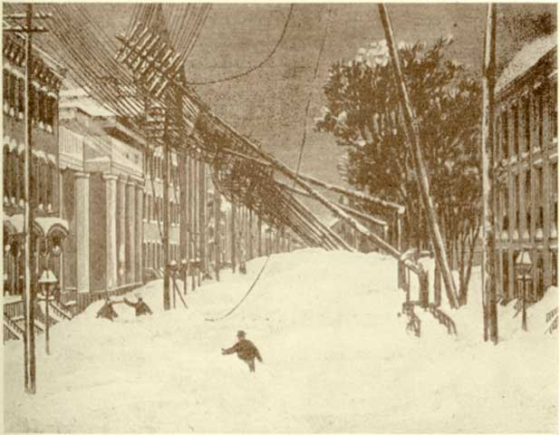 Great Blizzard of 1888