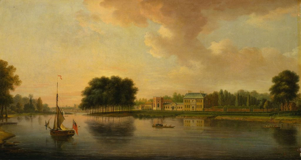 Louis Philippe - Painting of the Orleans House