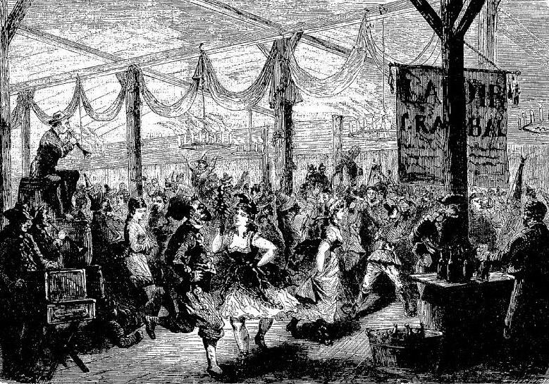 washerwomen of Paris ball in 1872.