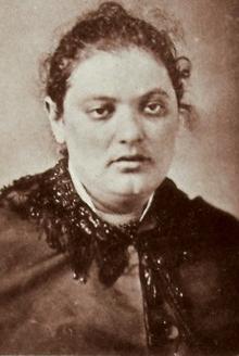Bertha Heyman in 1881