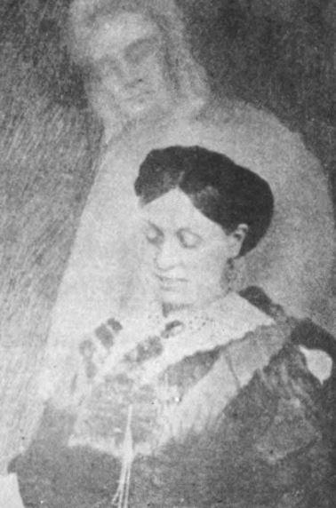 Emma Hardinge Britten with spirit