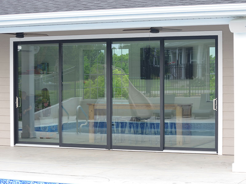 5400 aluminum patio door