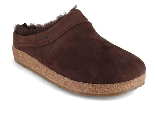 Haflinger Lambskin Clogs Warm & Comfy Feet