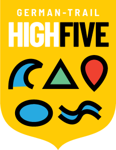 German-Trail High Five Logo