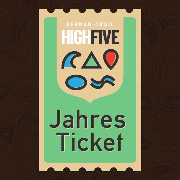 German Trail High Five Jahres Ticket