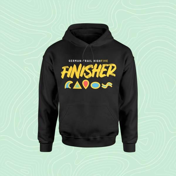 German-Trail High Five Finisher Hoodie Pullover Black Schwarz