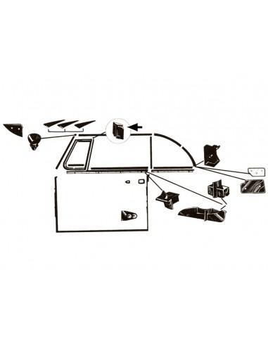 joint d'arrêt de glace g ou d cabriolet 65-79