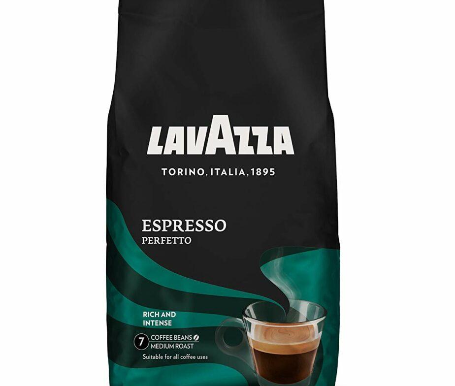 LavAzza Espresso Perfetto Whole Bean Coffee from Italy 1kg / 2.2 lbs / 35.2 oz   Buy German