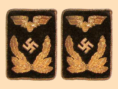 State Organizations Collar Tab & Shoulder Board Identification Gallery