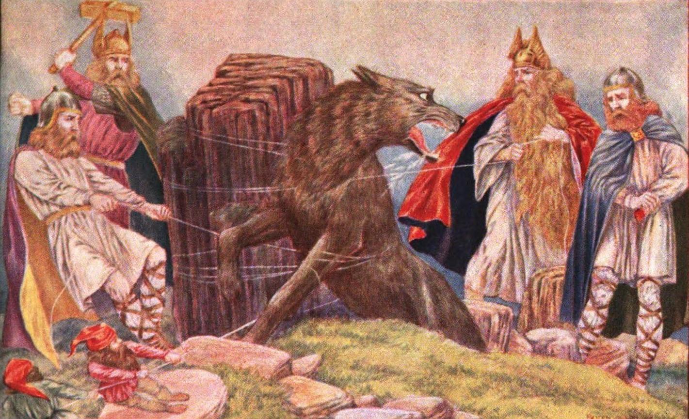 Storytime: The Binding of Fenrir (Norse Mythology) | The Winterton ...