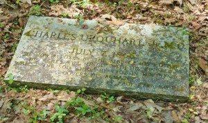gravestone of Dr. Charles Urquhart