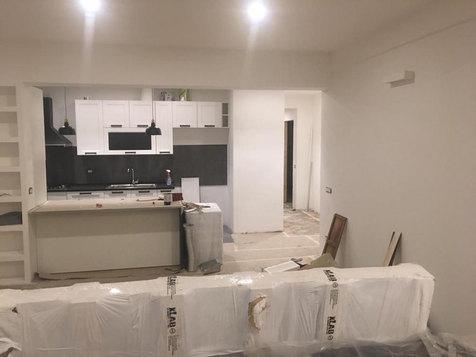 Ristrutturazione appartamento zona Pigneto a Roma