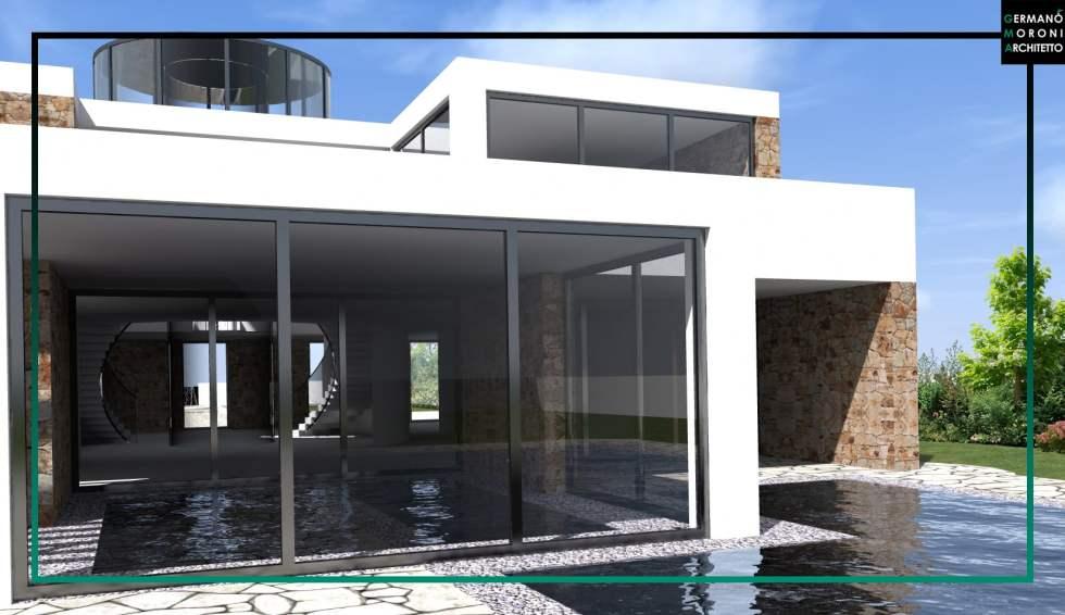 Villa con piscina a Roma
