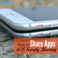How to Share Apps with iOS Family Sharing