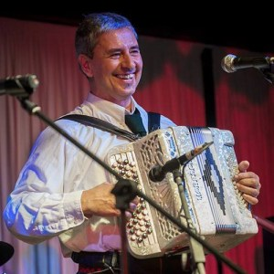 JULIO OVIEDO: ACCORDION AND VOCALS