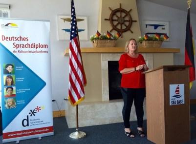 Ursula Schoeneich Principal GERMAN SCHOOL campus opening remarks