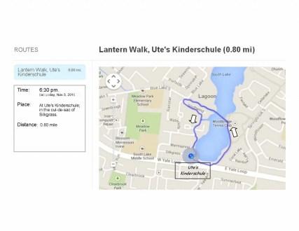 Lantern walk 2016