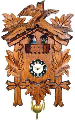 German Black Forest Clock By Engstler